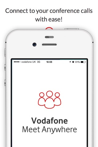 Vodafone Meet Anywhere screenshot 1
