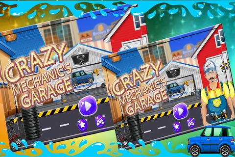 Crazy Mechanics Garage - Auto repair workshop salon & truck game screenshot 1