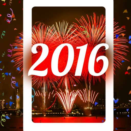 2016 Happy New Year - Fireworks Wallpapers iOS App