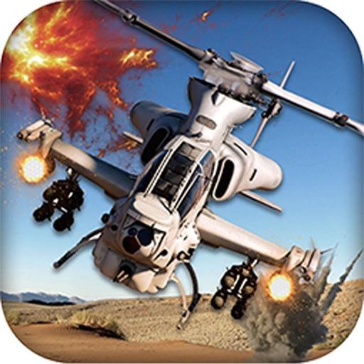 Gunship Heli Warfare Battle Game free iOS App