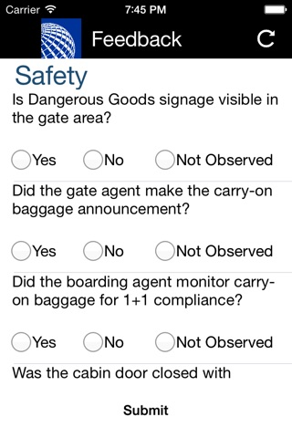 Safety FeedBack screenshot 3