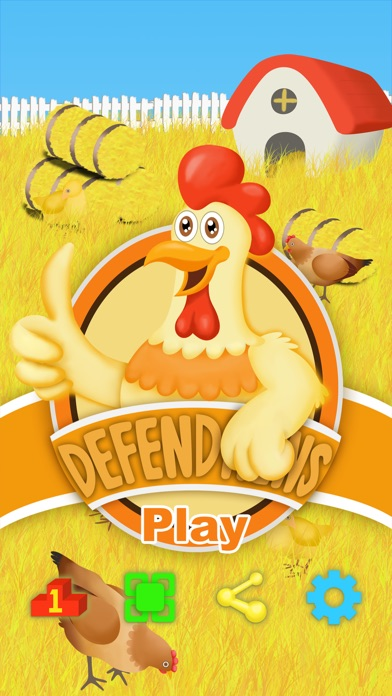 Defend Hens Screenshot