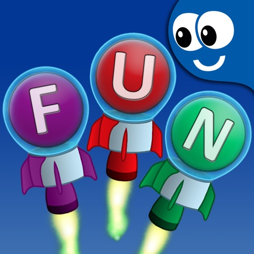 Flying First Words for Kids and Toddlers: Preschool learning reading through letter recognition and spelling iOS App
