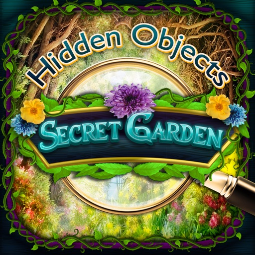 Secret Gardens - Hidden Object Spot and Find Objects Photo Differences iOS App