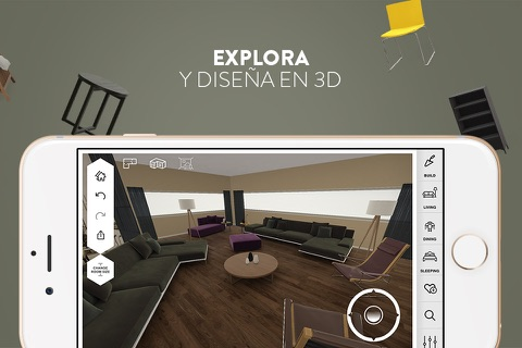 Amikasa - 3D Floor Planner with Augmented Reality screenshot 2