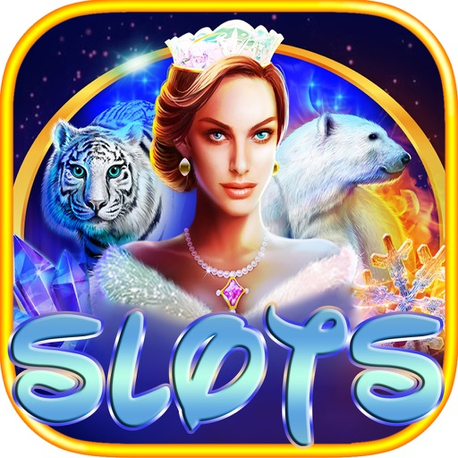 Ice & Fire Slots - Age Vegas Slot Game with Queen Ice Themes Free! iOS App