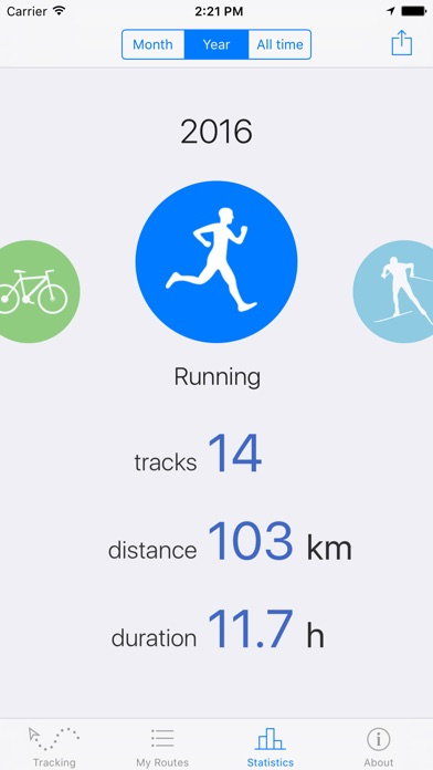 Routie ~ GPS sports tracker Screenshots