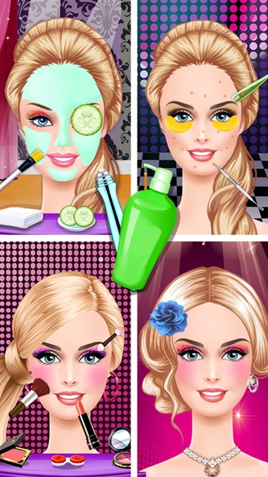download Fashion Star Maquillaje y Vestimenta - Salón de Belleza apps 0