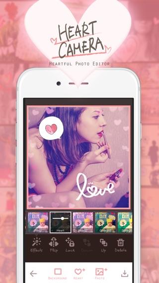 My Heart Camera - 写真デコ・コラージュのハートカメラ Screenshot