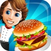 Fast Food Frenzy: Master Kitchen Chef Cheese-Burger Cooking Scramble FREE