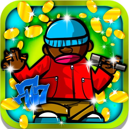 Good Vibe Slots: Be the break dance specialist and go home with lots of urban gifts iOS App