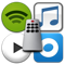 Music Control for iTunes, Spotify, Rdio and Personalized Internet ...