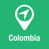 BigGuide Colombia Mapa + Definitiva Guía Turística y Navegación de voz Desconectada