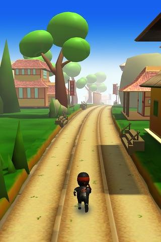 Ninja Runner 3D screenshot 3