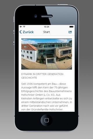 Bauunternehmung Hofschröer screenshot 2