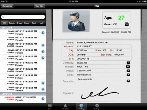 VeriScan Pro screenshot 4