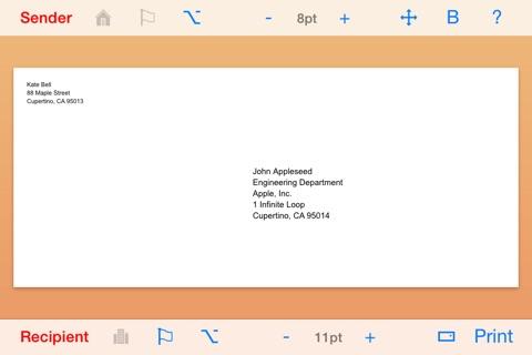 Envelope Maker screenshot 1