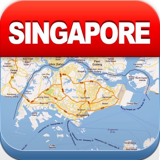 新加坡离线地图 – 城市 地铁 机场