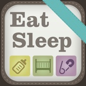 Eat Sleep: Simple Baby Tracking Mobile App Icon