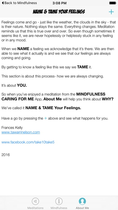 Mindfulness Caring for Me screenshot four
