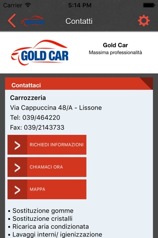 Gold Car screenshot 3