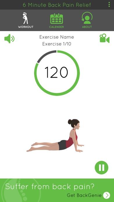 6 Minute Back Pain ReliefScreenshot of 3