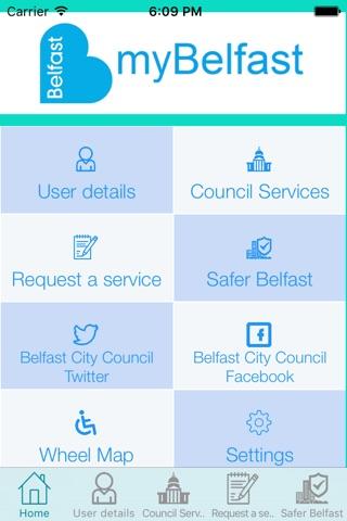 Belfast City Council screenshot 2