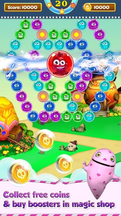 Bubble Shooter - Monster Bust Screenshot