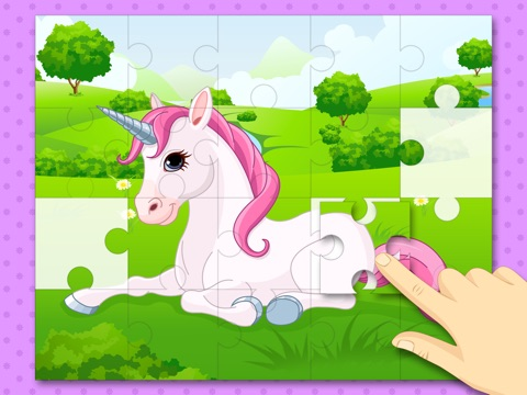Hermoso Rompecabezas de Ponis y Unicornios  juegos de lgica para