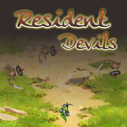 Resident Devils - fight the enemy and kill iOS App