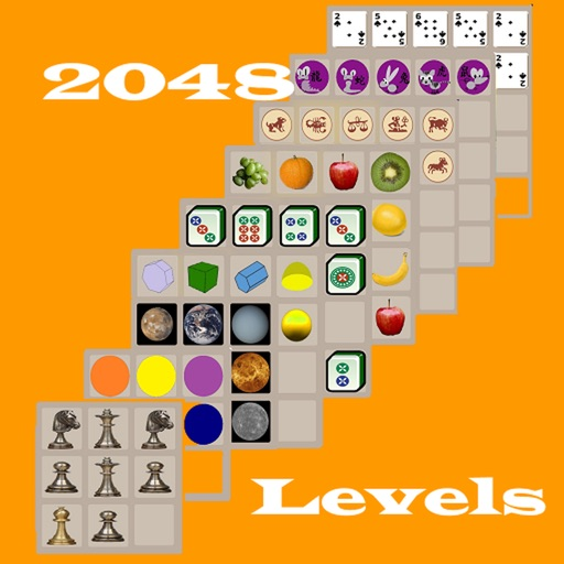 Levels for 2048 Icon