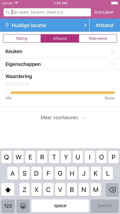 Download Restaurantgids Eet.nu App