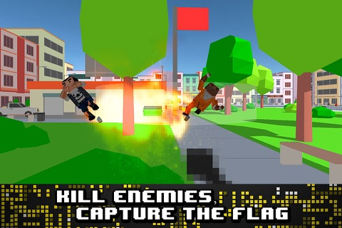 Pixel Wars: City Battlefield 3D Full screenshot 2