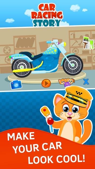 course de voiture jeu gratuit pour enfants de 3 ans sans wifi avec d 39 animaux dans l app store. Black Bedroom Furniture Sets. Home Design Ideas