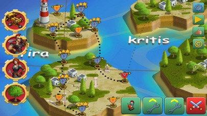 Screenshot von Tower Defense von Fields: Griechenland Tower Defense von Homeworld Runners Sentinel Spiel2