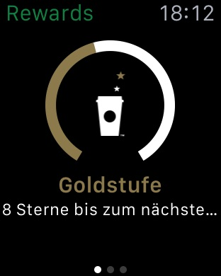 Starbucks Deutschland Screenshot