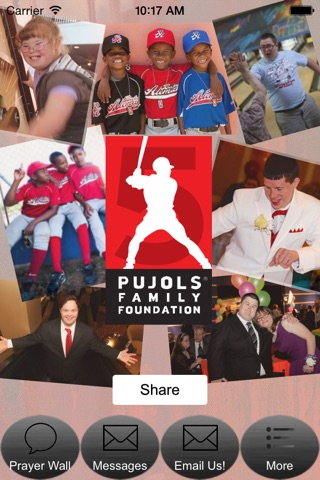 Pujols Family Foundation screenshot 1
