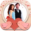 Romantic photo frames - Photomontage and image editor to frame love with your partner