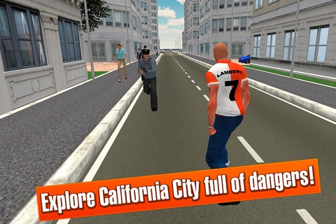 California Car Theft Race 3D Full screenshot 2