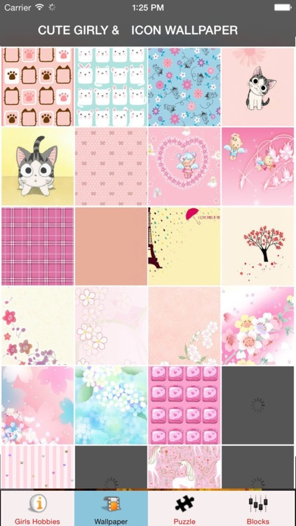 Icons cute girly wallpapers pink wallpaper for girls girls icons cute girly wallpapers pink wallpaper for girls girls puzzles games voltagebd Choice Image