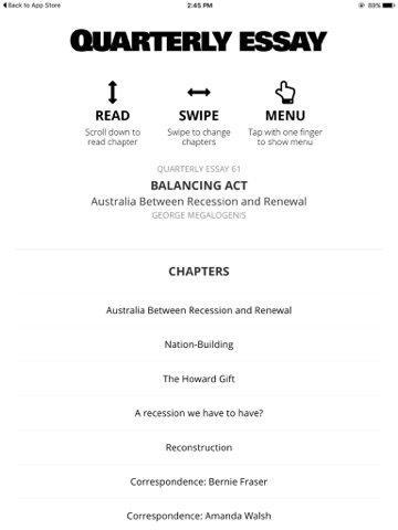 australia essay
