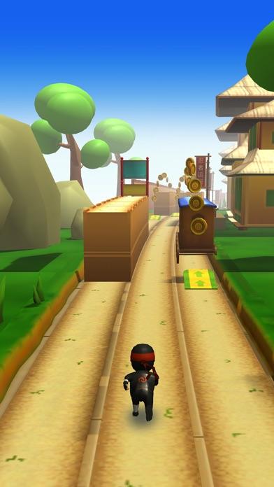 Ninja Runner 3D Screenshot