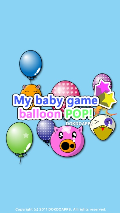 My baby game balloon pop free app insight download for Free balloon games
