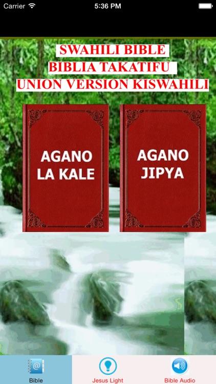 Swahili Bible Union Version Biblia Takatifu Kiswahili Na Ya Kusikia Iliyo Tanzania South Africa By Janice Ong