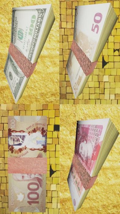 Screenshot von Be Rich - Banknoten Regen 3D1