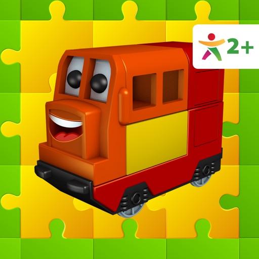 Happy Train Puzzle iOS App