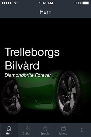 Trelleborgs Bilvård screenshot 1