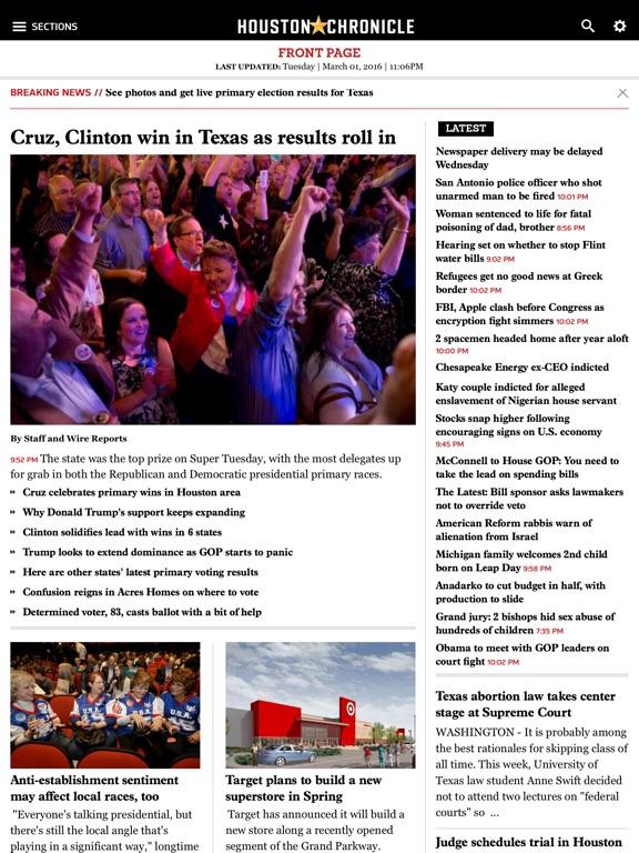 Houston Chronicleのおすすめ画像1