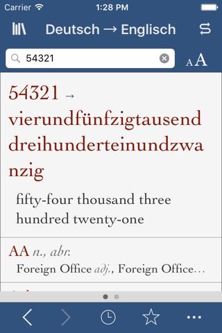German-English Translation Dictionary and Verbs screenshot 3