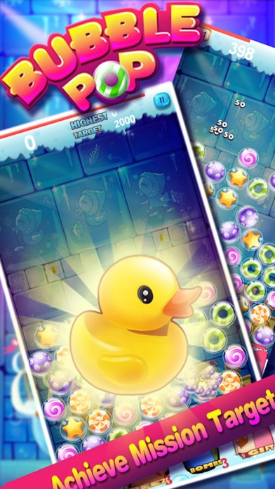 Candy Bubble Pop-Bubble STAR Screenshot